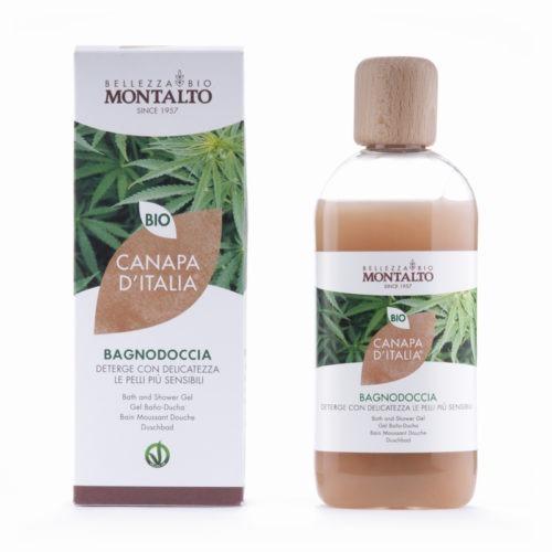 Canapa d'Italia (Italian Hemp) Bath and Shower Gel