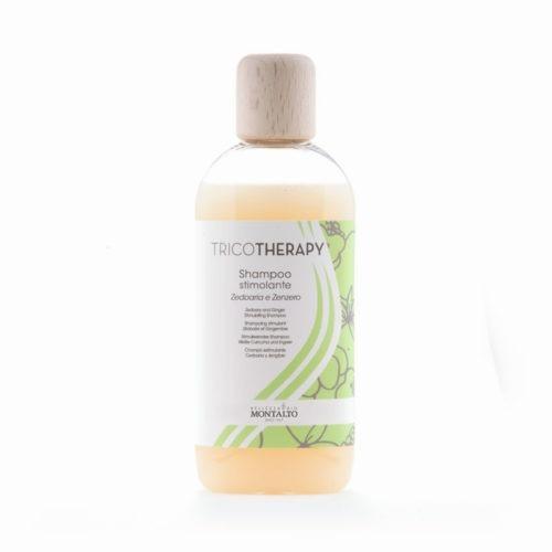 Shampoo Stimolante alla Zedoaria e Zenzero della Linea Tricotherapy